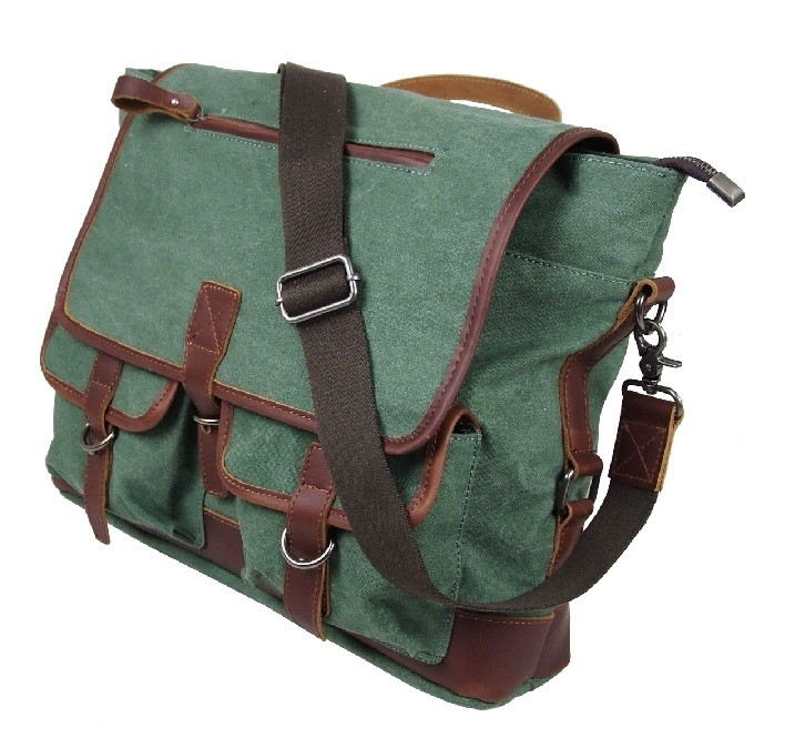 Mens Canvas Messenger Bags Satchel