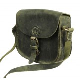 Vintage leather messenger bags for women