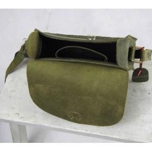 womens Vintage leather messenger bag
