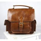 Leather man bag, leather mens messenger bag