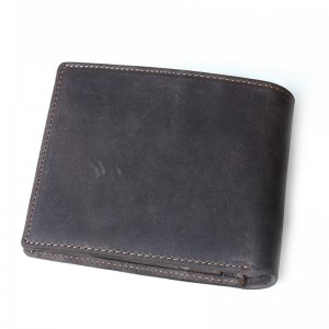 brown Leather mens wallet