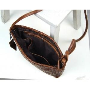 womens Leather messenger bag