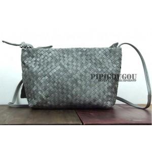 grey messenger bag womens