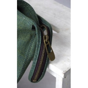 green messenger bags women