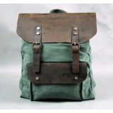 Book bags, canvas leather backpacks