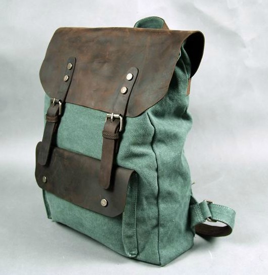 Leather Backpacks Mens Book Bags