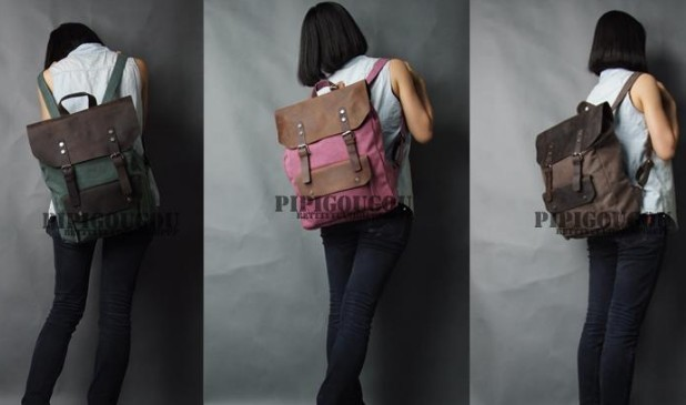Leather Book Bags Book Bags Canvas Leather