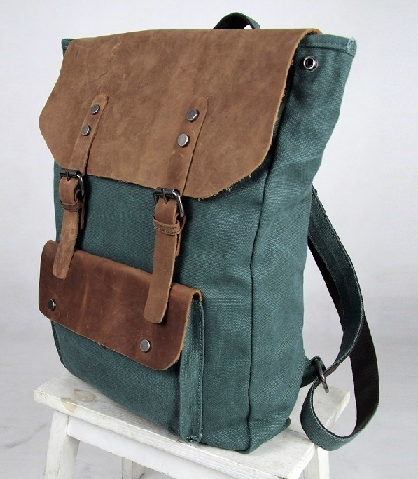 Book bags, canvas leather backpacks - BagsWish