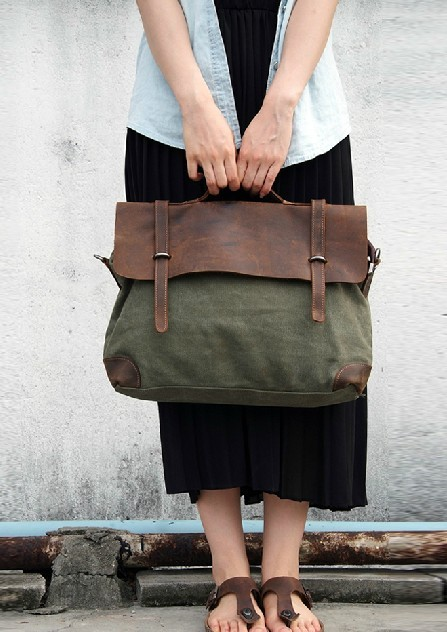 Womens Messenger Canvas Bags