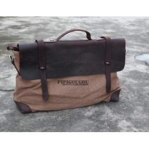 coffee vintage canvas messenger bags
