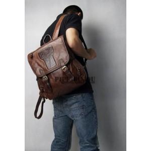 Retro notebook laptop bag for men