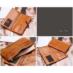 Ladies wallet leather