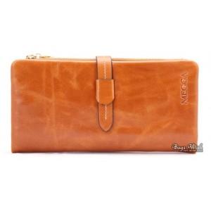 cowhide Ladies wallet leather