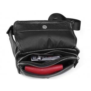 mens Leather waist purse