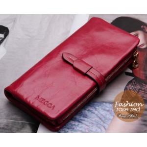 rose Ladies wallet leather