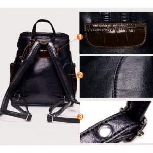 girls Stylish leather backpacks