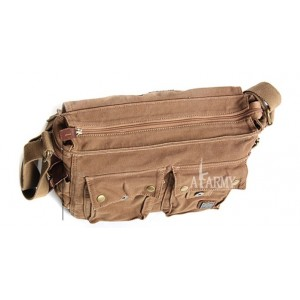 Canvas shoulder messenger