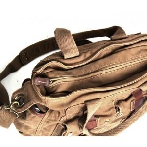 mens Cotton canvas messenger bag