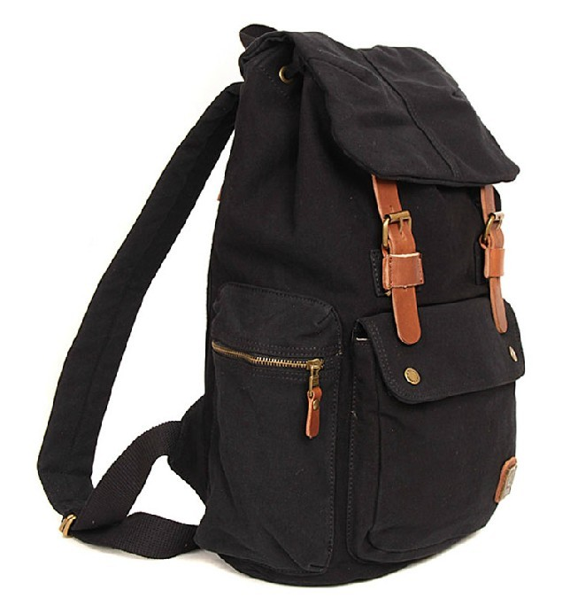 Casuel canvas backpack, college backpack