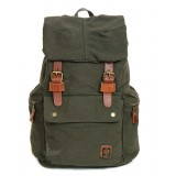 army green Casuel canvas backpack