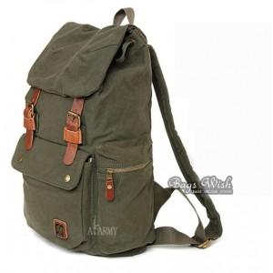 Casuel Canvas Backpack College Backpack Bagswish