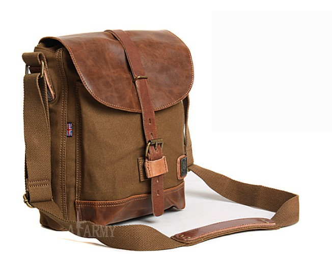 Vintage canvas messenger bags men, canvas satchel bags for men ...