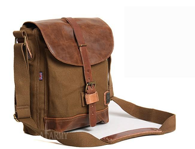 Vintage canvas messenger bags men, canvas satchel bags for men ...