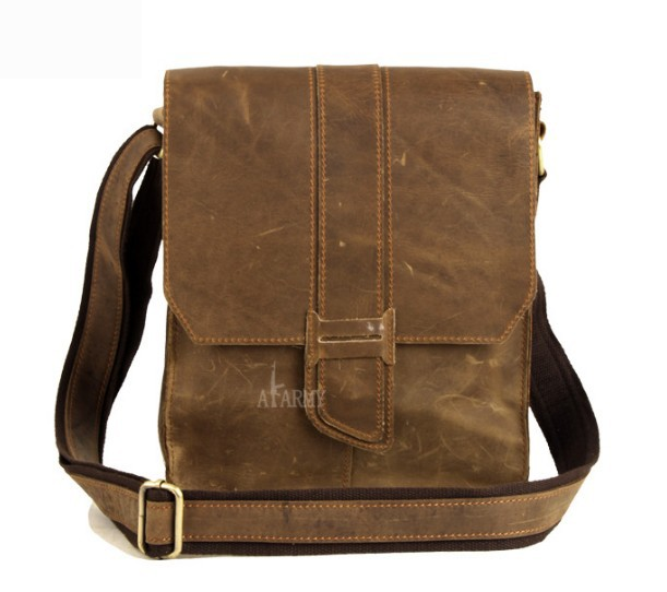 Vintage messenger bags for men, small messenger bag - BagsWish