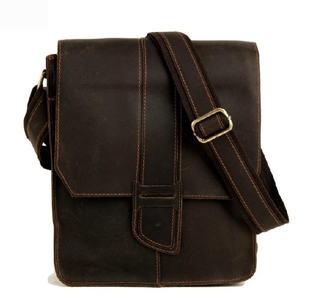 Vintage messenger bags for men, small messenger bag