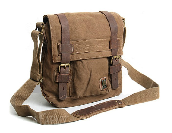IPAD2 school messenger bag, retro messenger bag - BagsWish