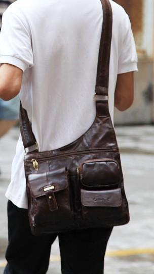 Sling messenger bag, messenger bags for men - BagsWish