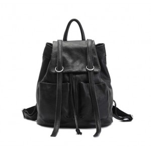 black Cute girl backpack