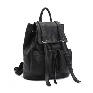 black daypack backpack