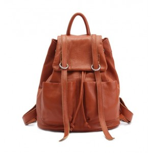 brown Cute girl backpacks