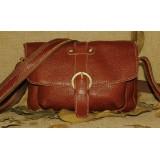Brown messenger bag, classic messenger bag