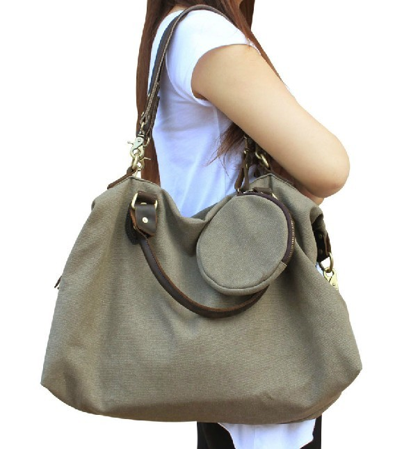 Simple Handbags Women Famous Brand Shoulder Bag Ladies Canvas Tote Bag Women