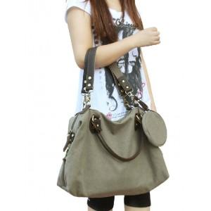 grey Womens travel tote bag