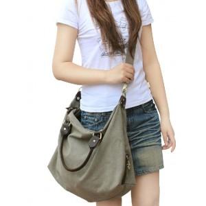 grey women shoulder bag