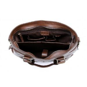 brown 14 inch laptop bag briefcase