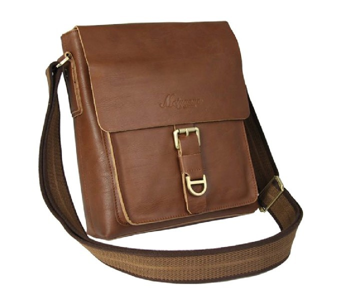 Leather Shoulder Travel Bag 37