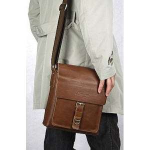 cowhide Leather shoulder bag