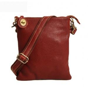 Men leather messenger bag, personalized messenger bag
