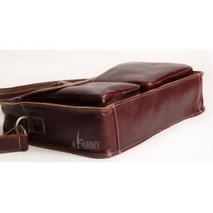 mens vintage leather briefcase