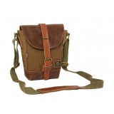 Canvas shoulder bag, small canvas shoulder bag