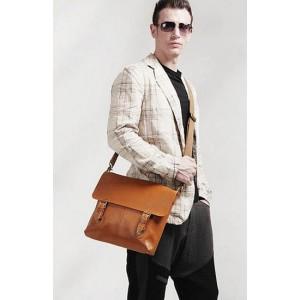 brown Awesome messenger bag