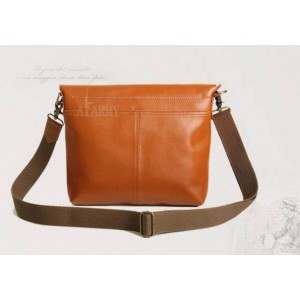 cowhide Awesome messenger bag