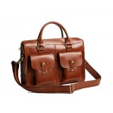 Leather briefcase bags, men leather briefcase