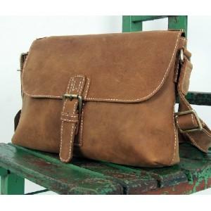 Leather satchel mens, professional messenger bag