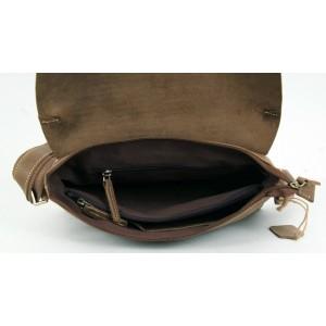 cowhide Leather satchel mens