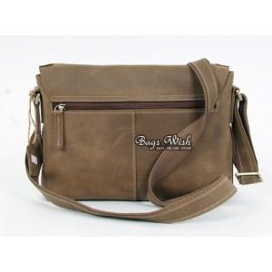 cowhide professional messenger bag
